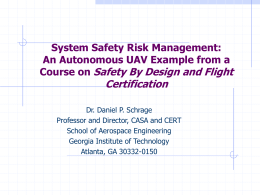 GTMax Preliminary Safety Assessment and Certification …