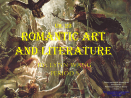 Romantic Art and Literature (pp)