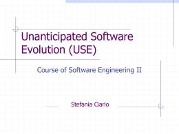 Unanticipated Software Evolution