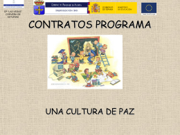 CONTRATOS PROGRAMA - Educastur Hospedaje Web
