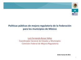 Diapositiva 1 - Fortalecimiento Municipal, AC