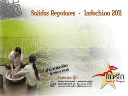 Programacion Indochina 2011