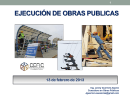 AUDIENCIA ILUSTRATIVA - CEFIC: Centro Peruano de