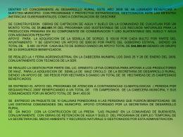 Diapositiva 1 - Ayuntamiento de Chinantla 2008-2011