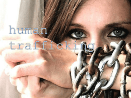 Human Trafficking Awareness Training