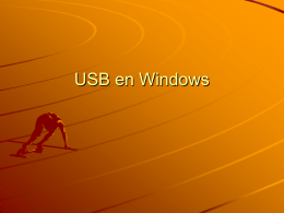 USB en Windows
