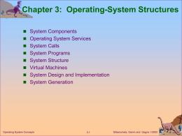 Module 3: Operating