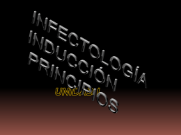 INFECTOLOGIA-INDUCCION