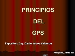 PRINCIPIOS DEL GPS