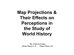 Map Projections - Powerpoint Palooza