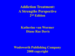 Power Point for Katherine van Wormer and Diane Rae …
