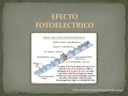 EFECTO FOTOELECTRICO - metodolea