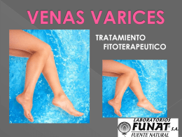 VENAS VARICES - Funat productos naturales Colombia