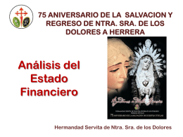 Diapositiva 1 - Servitas de Herrera