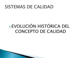 CALIDAD - Profesora Patricia Flores Verdad Proal