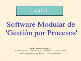 Presentacion Calitel