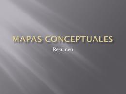 Mapas conceptuales - Clases Bachillerato