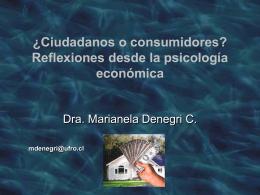 ELEMENTOS DE LAS CONDUCTAS ECONOMICAS