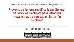 Comision de Energia y Mineria del Senado