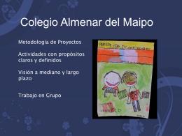 Colegio Almenar del Maipo Charlas para Padres, Agosto …