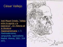 Algunos rasgos recurrentes del creacionismo de Vicente