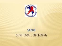 Arbitros – referees