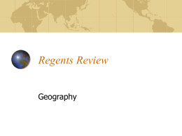 Regents Review - Sewanhaka High School