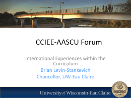 CCIEE-AASCU Forum