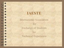 IAESTE - UBC Physics & Astronomy