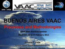 VAAC BUENOS AIRES - International Civil Aviation …