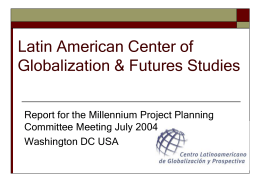 Latin American Center of Globalization & Futures Studies
