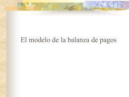 Modelo balanza de pagos v4