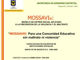 SGD-Mossavi Comunidad Educativa 1999-2000