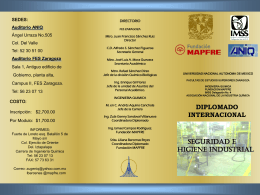 Diplomado Internacional de Serguridad