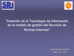 Foro Internacional de Tecnologia