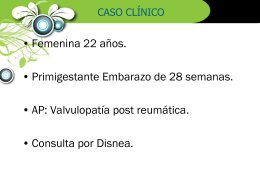 HIPERTENSION PULMONAR Y EMBARAZO
