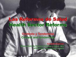 Las Reformas de Salud