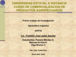 EL SECTOR AGROPECURIO Y LA APERTURA COMERCIAL
