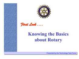 What is Rotary?