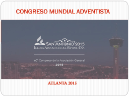 CONGRESO MUNDIAL ADVENTISTA