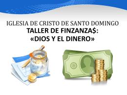 EL CRISTIANO Y SUS FINANZAS