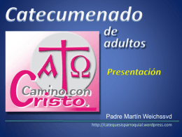 Catecumenado de adultos