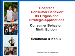 Chapter 3 Market Segmentation