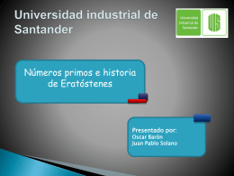Universidad industrial Santander