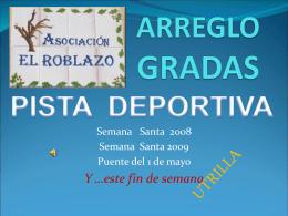 ARREGLO GRADAS