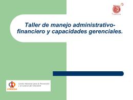 Sistema de Control Presupuestal: Procedimientos para la