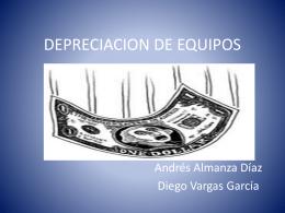 DEPRECIACION DE EQUIPOS