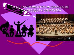 LOS INSTRUMENTOS MUSICALES.
