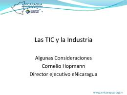 Las TIC y la Industria