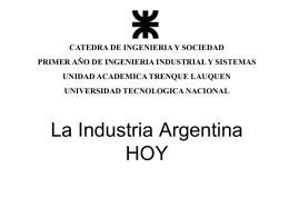 La Industria Argentina HOY